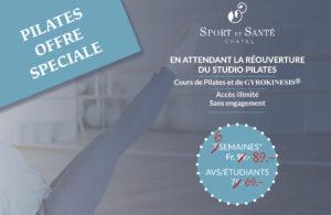 Offre spéciale Pilates : plus que 6 semaines…